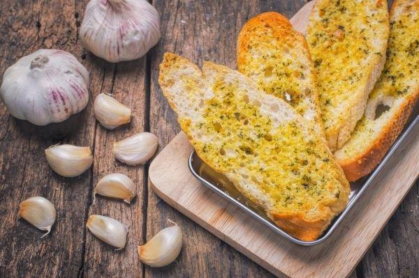 acompanhamento para churrasco pão de alho
