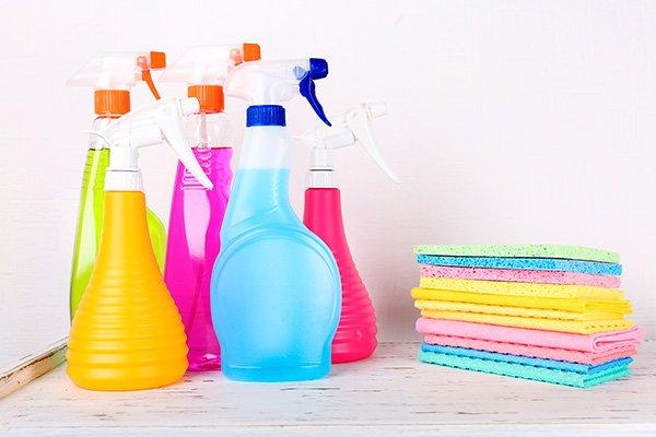 produtos de limpeza concentrados