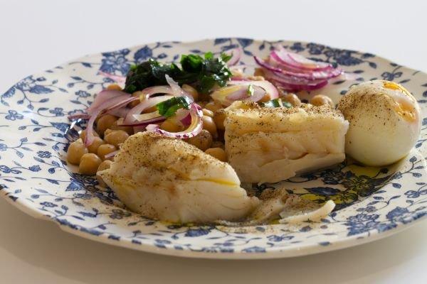 bacalhau prato