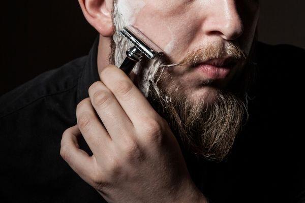cuidados com a barba barbear