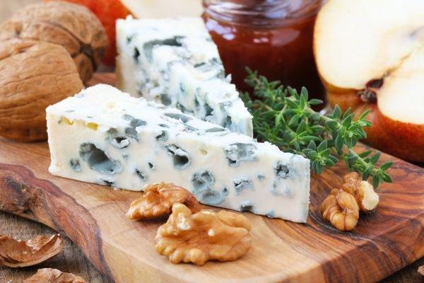 tábua de queijos roquefort