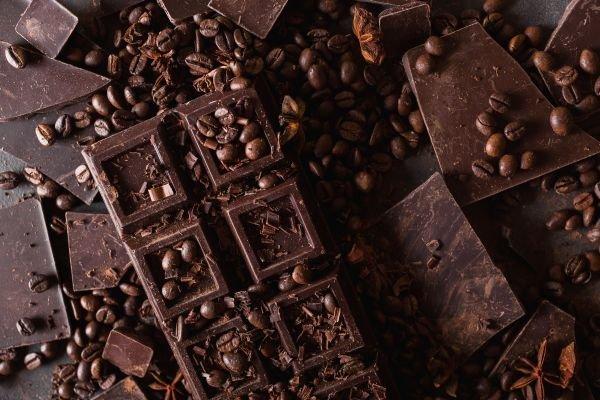 tipos de chocolate amargo