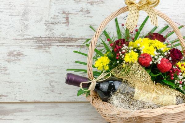 cesta de Páscoa - amor