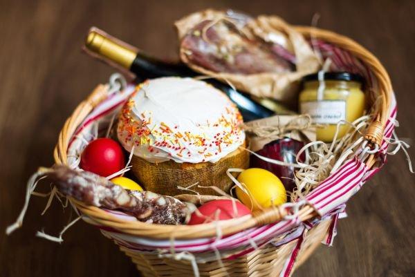 cesta de Páscoa para avós