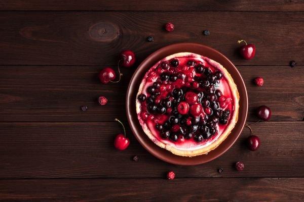 harmonização de cervejas - frutas vermelhas