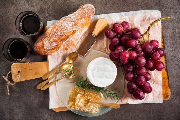 harmonização de pães e vinhos complemento
