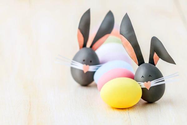 páscoa-decoração-coelhos