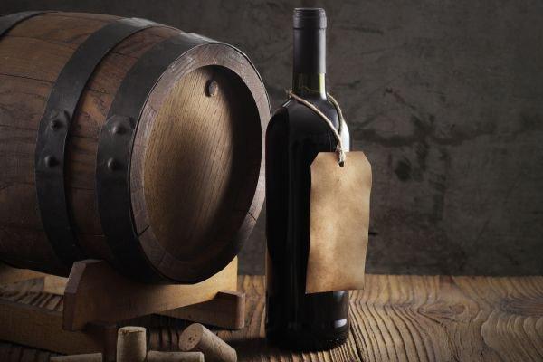 rótulo de vinho - antigo