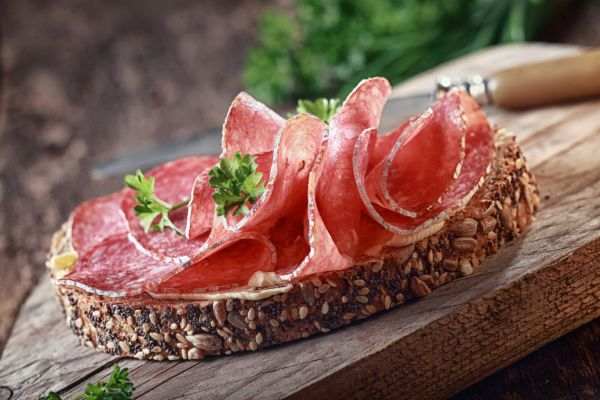 sanduiche natural salame