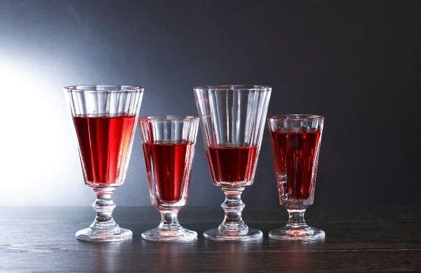taça de vinho aperitivo