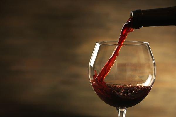taça de vinho borgonha