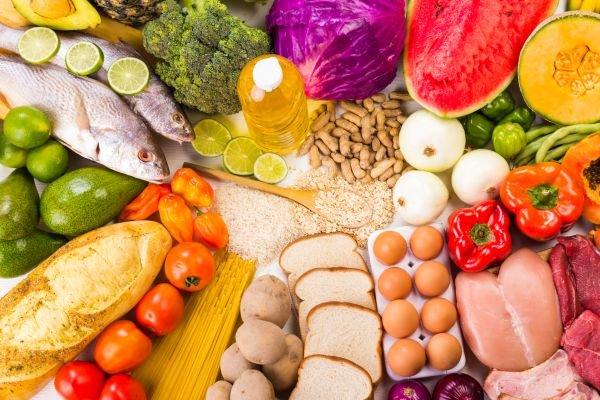 alimentação saudável - variedades de alimentos