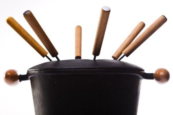 ideias criativas fondue em casa - utensilios