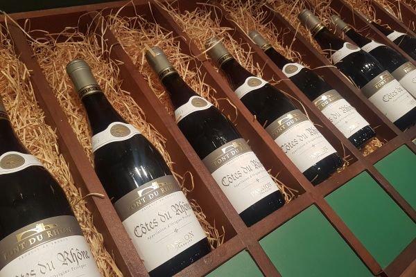 pão de açúcar viva vinhos côtes du rhone