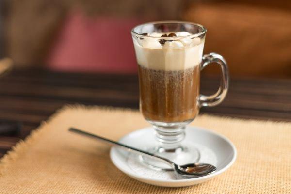 receitas com café - irish coffee