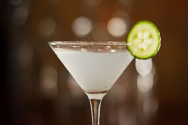 receitas de drinks cucumber martini