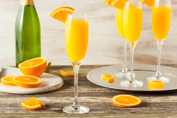receitas de drinks mimosa