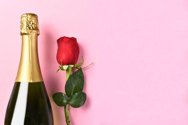 dia dos namorados vinho - champagne