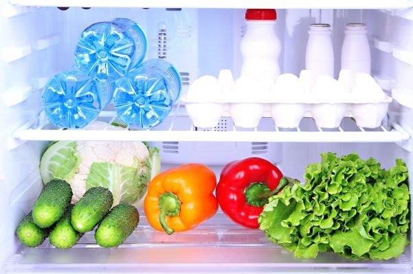 guardar vegetais e frutas - lavar