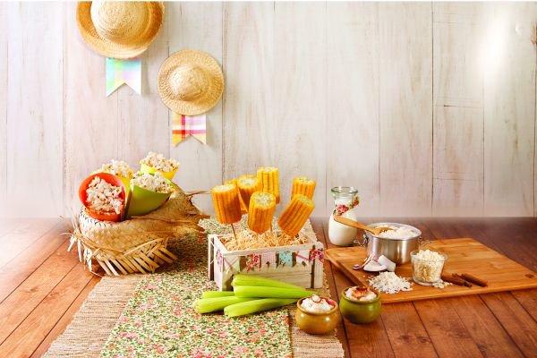 receitas de festa junina - canjica com coco