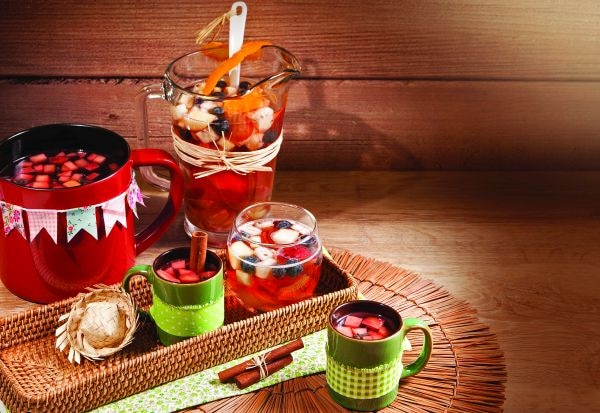 receitas de festa junina - vinho quente