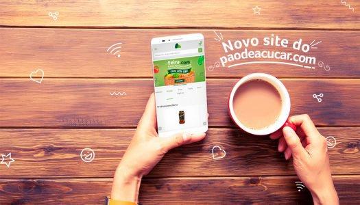 Aprenda a navegar na versão mobile do novo site do Paodeacucar.com!