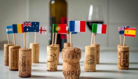 Quais são os principais tipos de uva para vinho tinto?