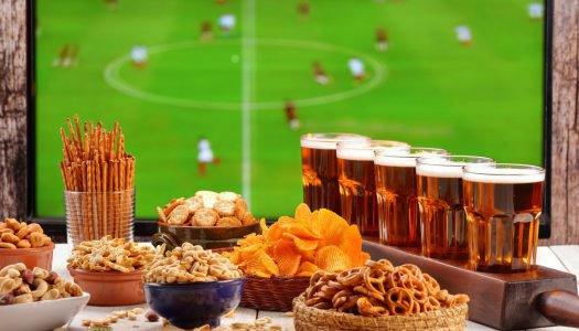Cerveja e petisco: as melhores dicas para sua noite de futebol