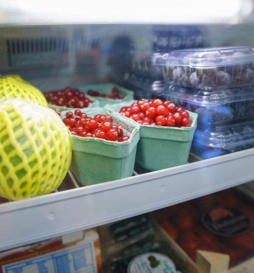 guardar frutas e verduras - geladeira 2