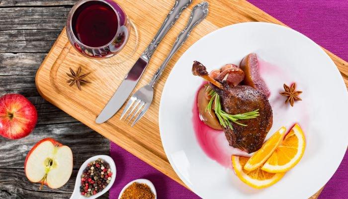 harmonização de vinhos e carne - carne de caça