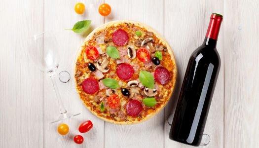 Como fazer a harmonização de vinhos com sua pizza favorita?