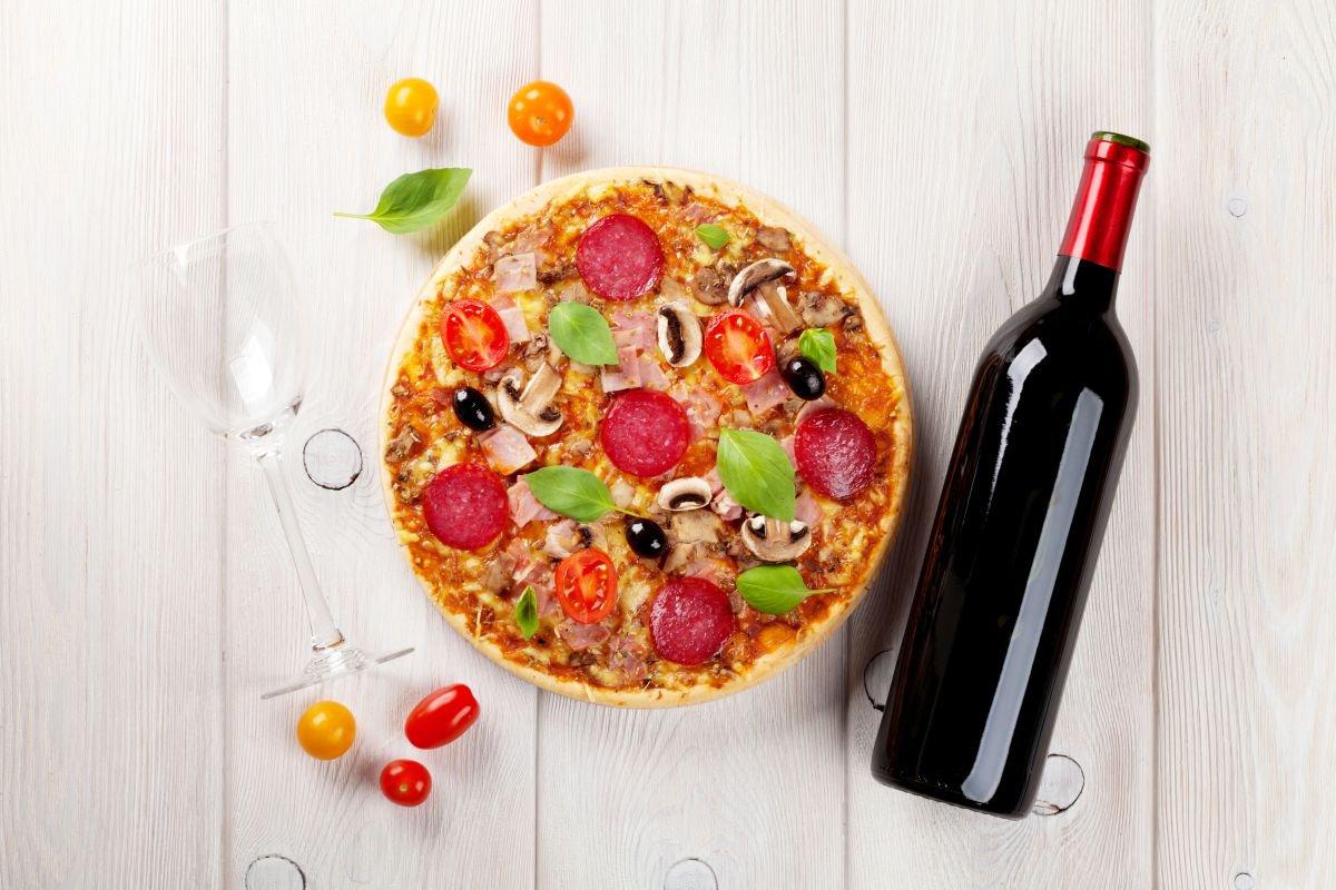 harmonização de vinhos pizza - capa