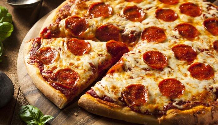 harmonização de vinhos pizza pepperoni
