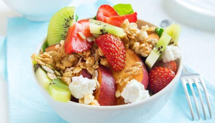 lanchinho da tarde - salada de frutas