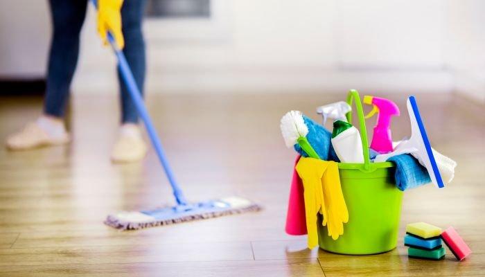 limpeza da casa produtos