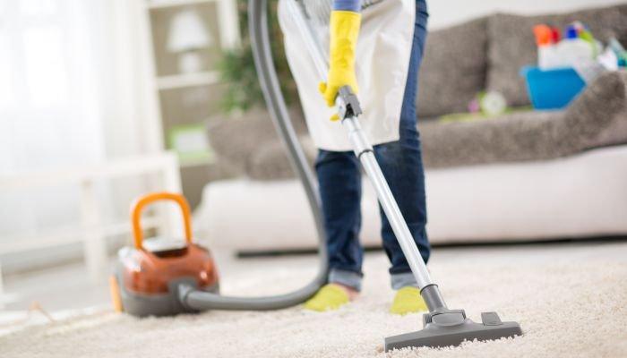 limpeza da casa - sala
