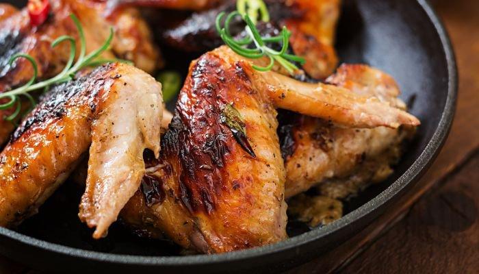 melhores carnes para churrasco - asa de frango