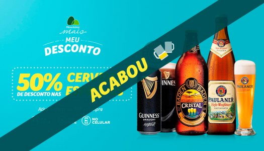 Pão de Açúcar realiza, no dia 24/08/17, promoção de cervejas especiais no app com venda nas lojas e site