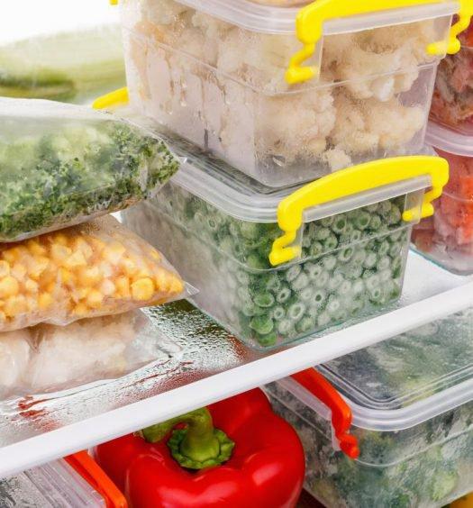 alimentos congelados - capa