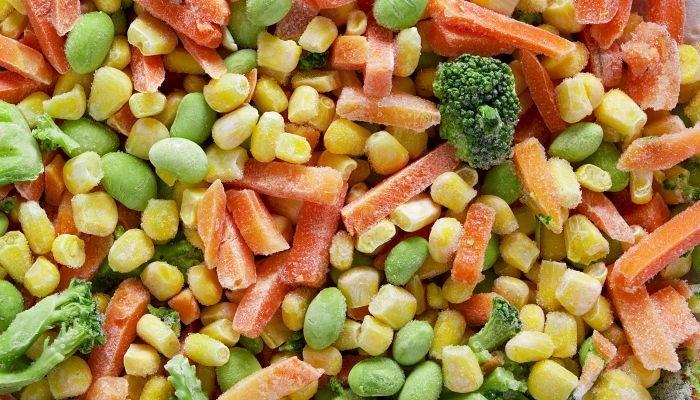 alimentos congelados - legumes
