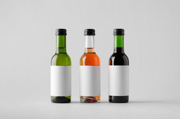 conservar um vinho - garrafas menores