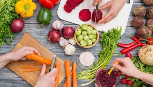 cozinhar legumes e vegetais - capa