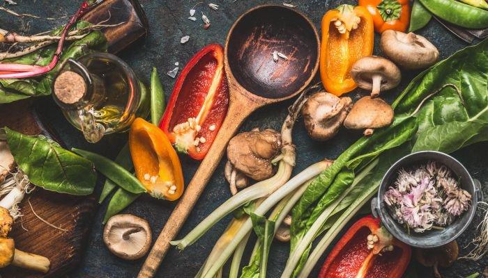 cozinhar legumes e vegetais - casca