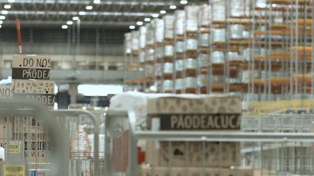 centro de distribuição e-commerce alimentar