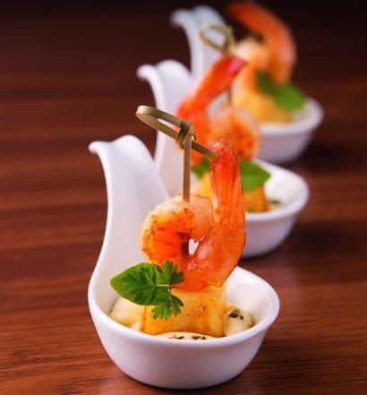 petisco de camarão com maionese - capa