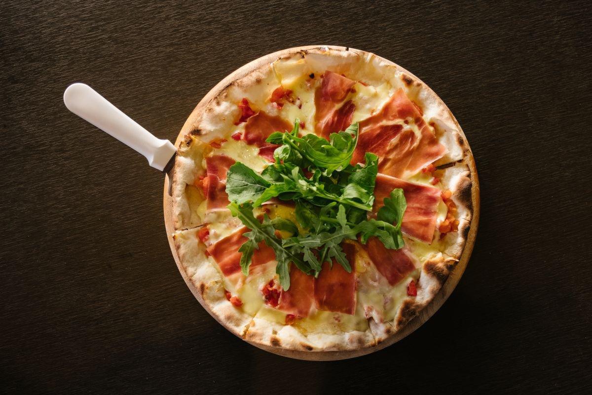 pizza de presunto de parma - capa
