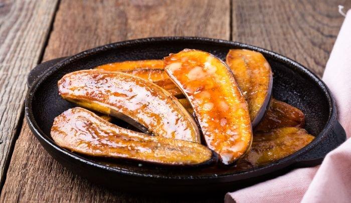 sobremesa com frutas - banana
