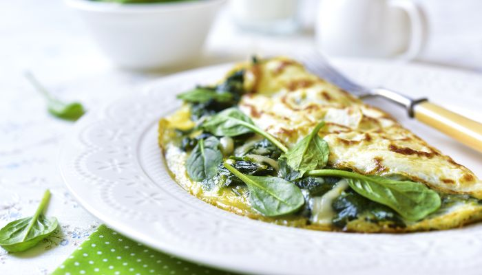 alimentação low carb - omelete