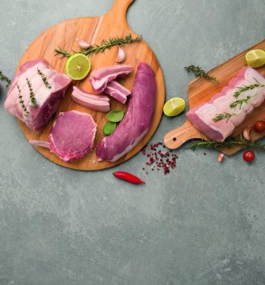 capa especial carne suína