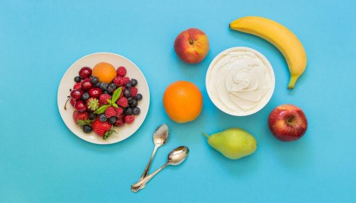 comer frutas - cardápio